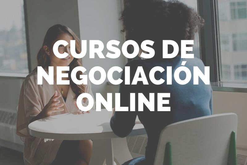 cursos negociacion online