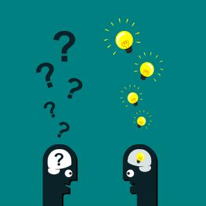 """Dentro de las técnicas imprescindibles del buen mediador están las preguntas. Saber formular preguntas es una habilidad que nos puede facilitar mucho la vida. El que sabe preguntar es capaz de obtener información útil y servirse de ella para lograr persuadir de alguna forma al otro. La información es poder. Si utilizamos ese poder de forma cooperativa, se cumple el dicho de """"todos ganamos""""."""